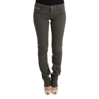 Costume National Costume National Gray Cotton Slim Fit Denim Jeans - w27