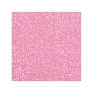 Paper House Paper 12x12 Floral Pink