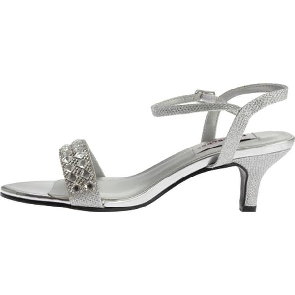 Dyeables Womens Dre Ankle-Strap Sandal