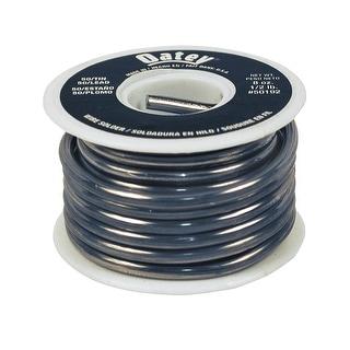 Oatey 50192 50/50 Solid Wire Solder, 1/2 lbs