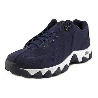 K-Swiss Mono Men Round Toe Synthetic Blue Fashion Sneakers
