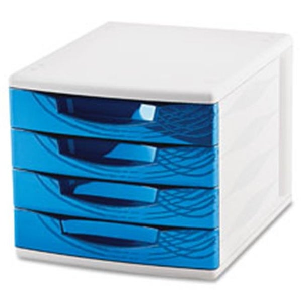 CEP Origins Collection Desktop Sorting Module, White & Blue