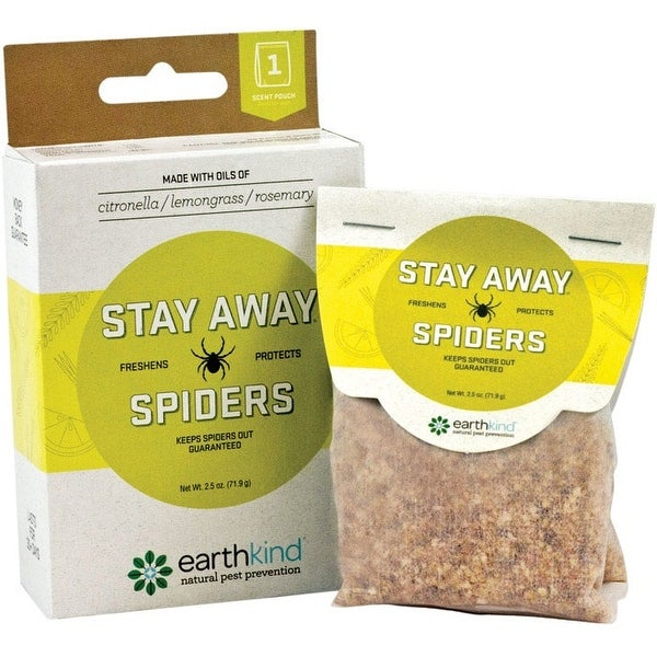 Earthkind SA-S SF8 Stay Away Spider Repellent, 2.5 Oz