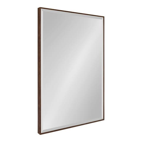 Rhodes Framed Decorative Rectangle Wall Mirror