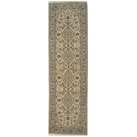 Handmade One-of-a-Kind Kashan Wool Runner (Iran) - 2'8 x 9'