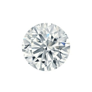 Auriya 2ct GIA Certified Round Diamond Loose Stone (I SI2)