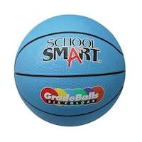 School Smart 11 in Gradeball Rubber Mini Basketball, Blue