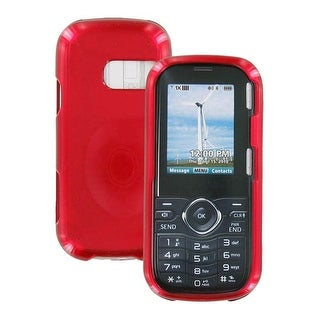 LG Cosmos VN250 Snap-On Hard Case (Red) (Bulk Packaging)