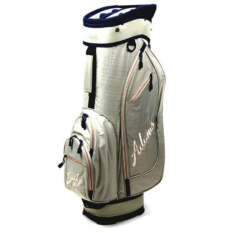 New Adams Golf Idea Cart Bag (Beige) - Beige