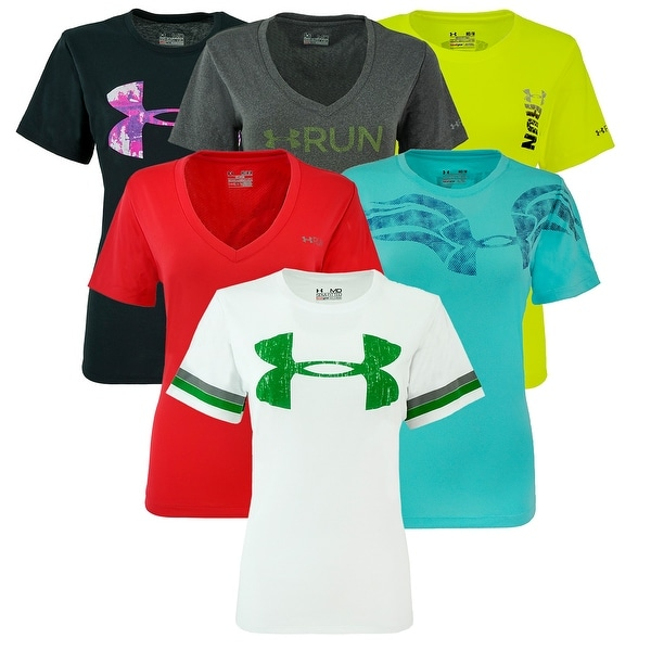 11e4dd323 Shop Under Armour Women's Graphic Mystery T-Shirt - Assorted - Free Shipping  On Orders Over $45 - Overstock - 24169736