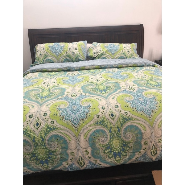 Shop Echo Design Sardinia Multi Cotton Comforter Set Free Shipping