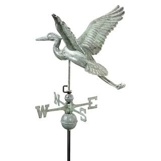 """28"""" Luxury Blue Verde Great Blue Heron Weathervane"""