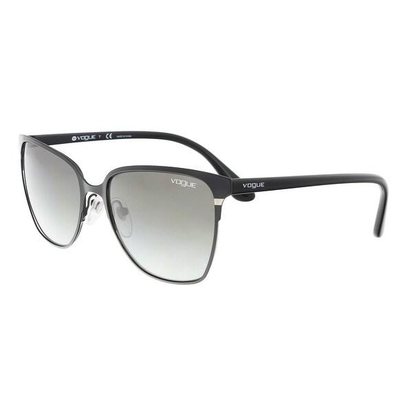 c956e032cb1 Shop Vogue VO3962S 352 11 Black Aviator Sunglasses - 56-18-140 ...