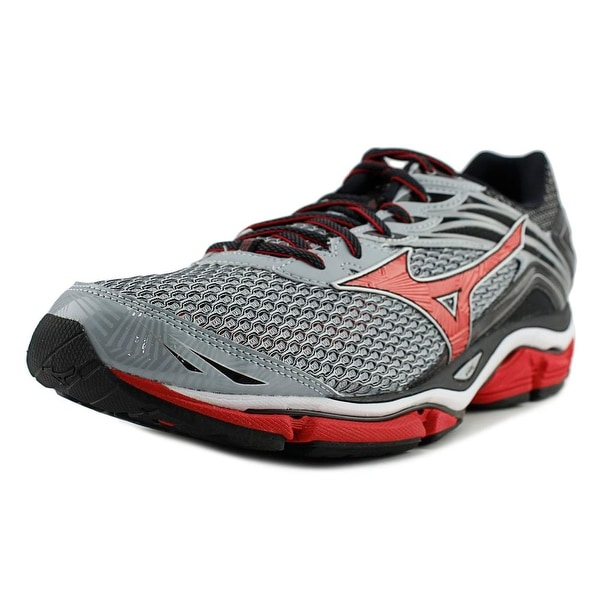 Mizuno Wave Enigma 6 Men Quarry/High Risk Red/Black Running Shoes