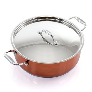 Link to Better Chef 10 Quart Stainless Steel Low Pot in Copper Similar Items in Cookware