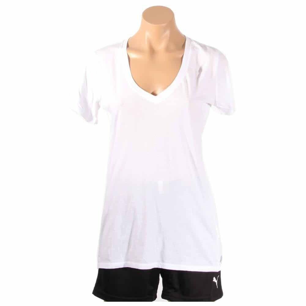 tee shirt converse femme col v