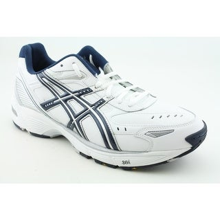Asics Gel-160TR Men  Round Toe Leather White Running Shoe
