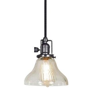 "JVI Designs 1200 S11-CR Bell Single Light 7"" Wide Mini Pendant (4 options available)"