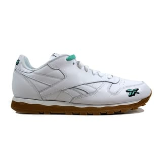 0241e07ffb5b Reebok Men s Classic Leather 3AM Atlanta White Primal Red-AviatorDV4707