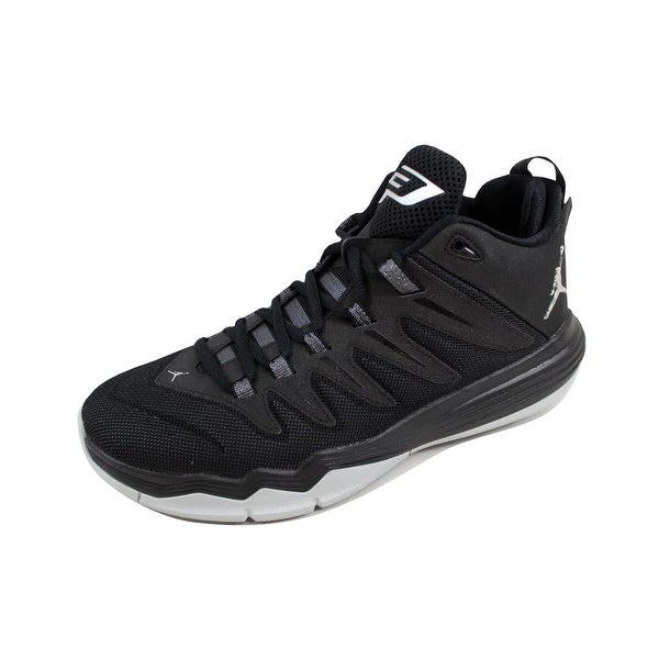 Nike Men's Air Jordan CP3 IX 9 Black/Metallic Silver-Anthracite Chris Paul 810868-010