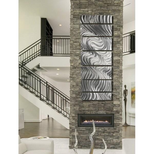 Shop Statements2000 Silver Metal Wall Art Panels Indoor Outdoor By