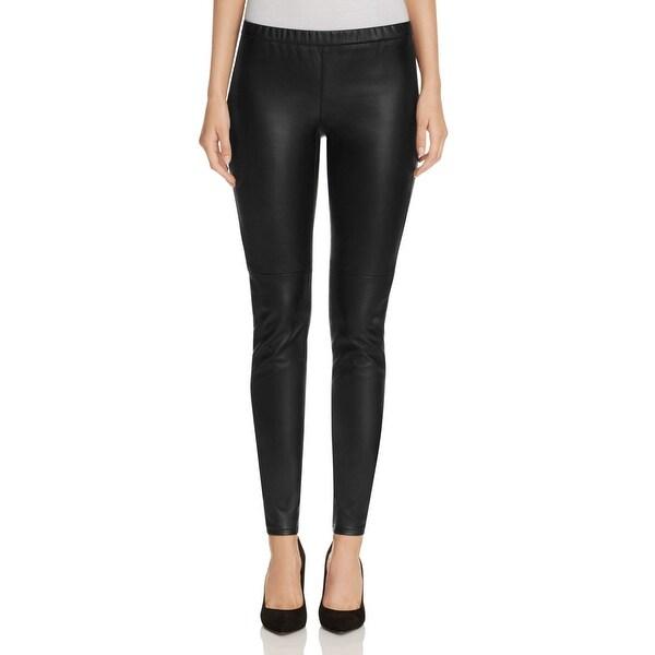 3b67a044031718 MICHAEL Michael Kors NEW Black Women Size 16 Faux-Leather Leggings Pants