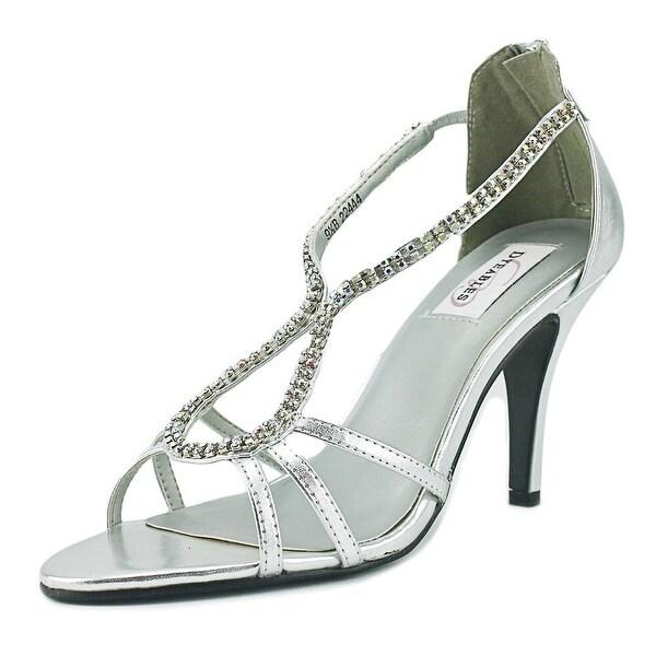 Dyeables Josie Women Silver Sandals