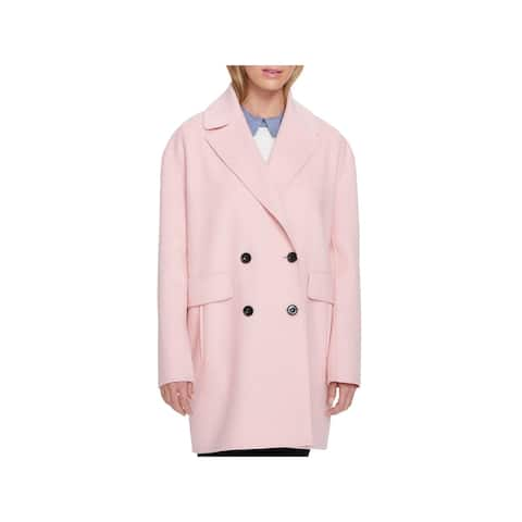 Tommy Hilfiger Womens Pea Coat Fall Double-Breasted