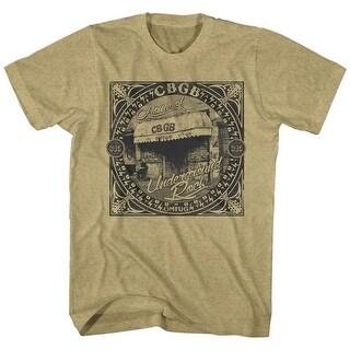 Cbgb Underground Rock Mens Crew Tee T Shirt