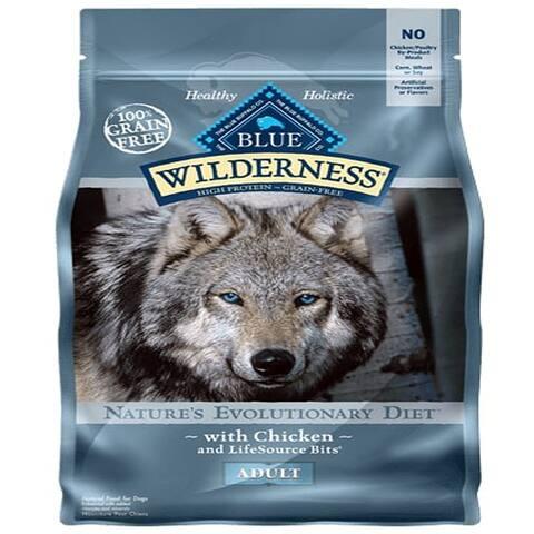 Blue Buffalo Dog Wilderness Grain-Free Chicken 11 Lbs. - 11 lbs