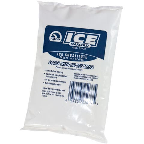 IGLOO MaxCold Ice Gel Pack - White - 3.5 in.x.75 in.x5.5 in.