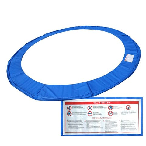 Blue Safety Round Spring Pad Replacement Cover for 14' Trampoline