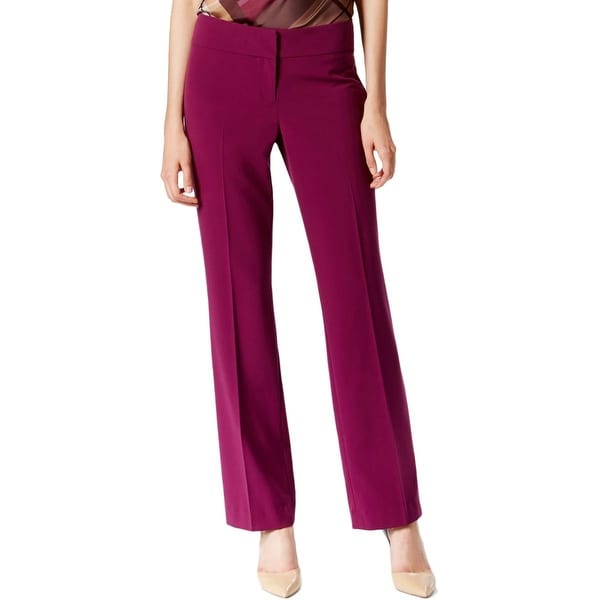 Nine West Womens Dress Pants Low-Rise Fitted