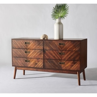 Link to Safavieh Couture Donald 6-drawer Dresser Similar Items in Living Room Furniture