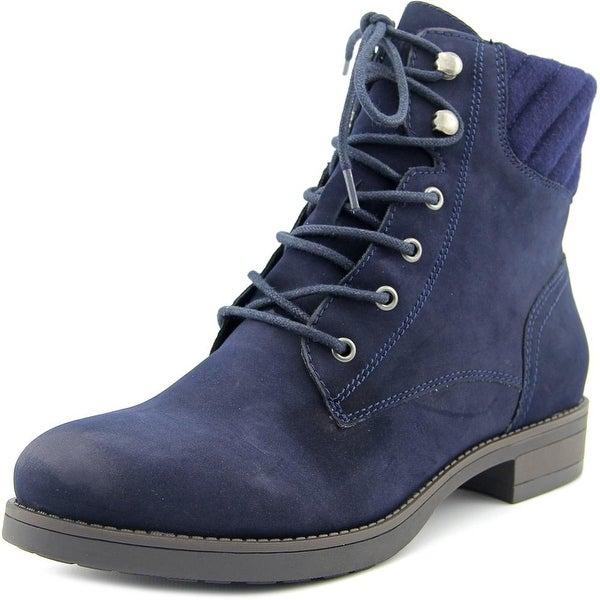 American Rag Swidler Women Round Toe Synthetic Blue Ankle Boot