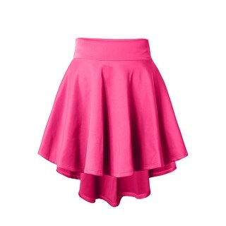 NE PEOPLE Stretchy Mini Flared Skater Skirt [NEWSK12]