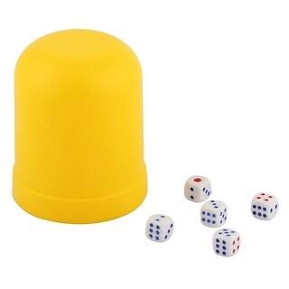 Club Bar KTV Casino Guessing Gaming Gambling Shaker Case Bet Stake Dice Cup