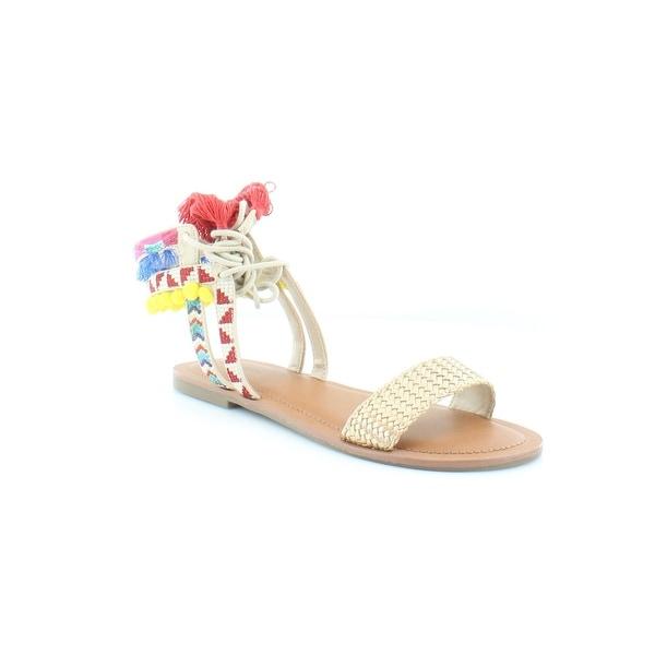 Pink & Pepper Doe Women's Sandals Gold Mult