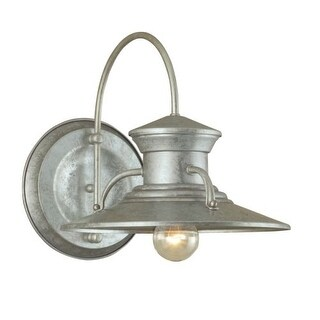 "Norwell Lighting 5155 Budapest Single Light 13"" Tall Outdoor Wall Sconce with Copper Glass Shade (2 options available)"