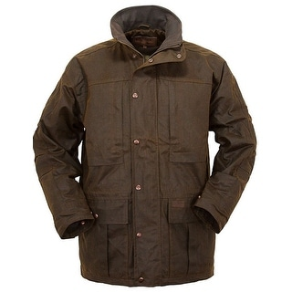 Outback Trading Jacket Mens Outerwear Deer Hunter Plaid WP 2180