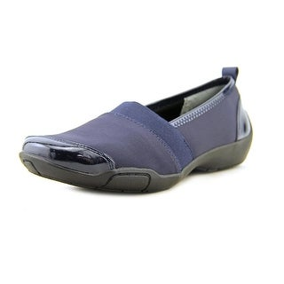 Ros Hommerson Carol Women Round Toe Canvas Blue Loafer