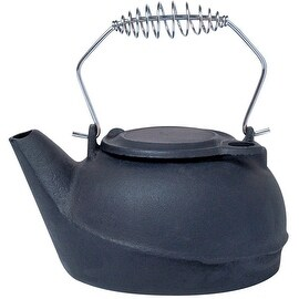 Panacea 15321 Cast Iron Kettle Humidifier, 2.5 Quarts, Black