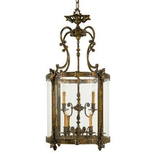 """Metropolitan N2342 9 Light 48.5"""" Height Lantern Pendant from the Foyer Collection - antique bronze patina"""
