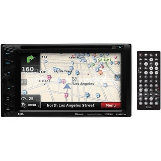 "Boss 6.2"" DDin Receiver Touchscreen Bluetooth DVD/CD USB/SD Front Aux Navigation"