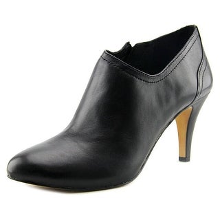Vince Camuto Vo-Vala Women Pointed Toe Leather Black Bootie