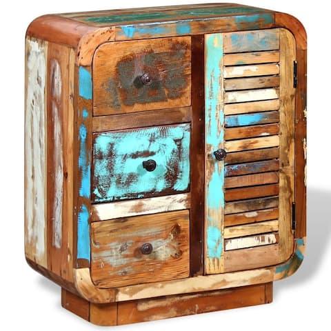 vidaXL Sideboard Solid Reclaimed Wood