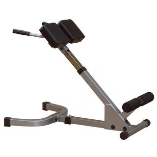 Body-Solid Powerline 45-Degree Back Hyperextension - metal