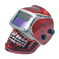 Auto-Darkening & Solar Powered Welding Helmet