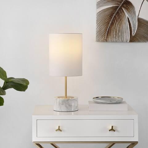 "SAFAVIEH Lighting Kamilah 18-inch USB Charging LED Table Lamp - 8"" W x 8"" L x 18"" H"