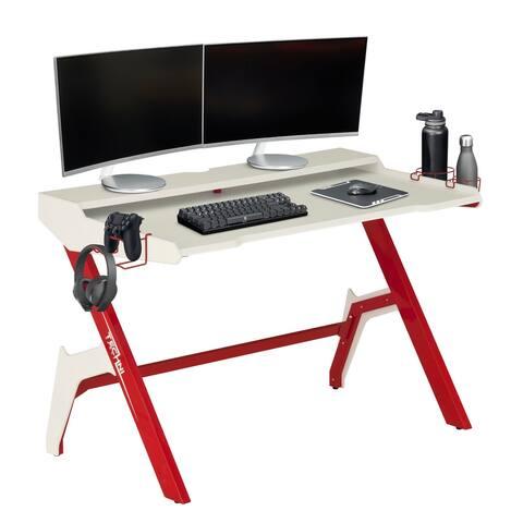 Techni Sport Computer Gaming Desk Workstation